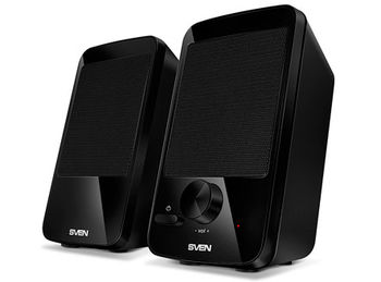 Active Speakers SVEN 312 Black USB, RMS 4W, 2x2W