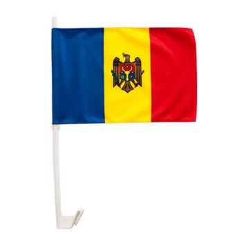 cumpără Steguleț auto cu suport - Moldova sau alte țări - 40x30 cm în Chișinău