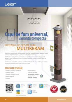 купить Дымоходная система керамическая - LEIER MULTIKERAM в Кишинёве