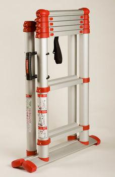 купить Телескопическая лестница-стремянка TELESTEPS Combi Line Red 3,0 м в Кишинёве