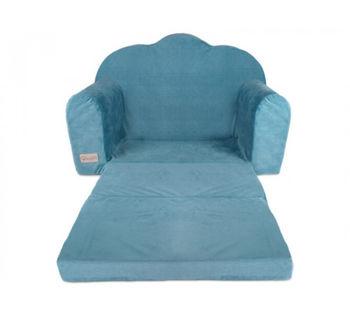 купить Софа детская Klups Velvet Blue в Кишинёве