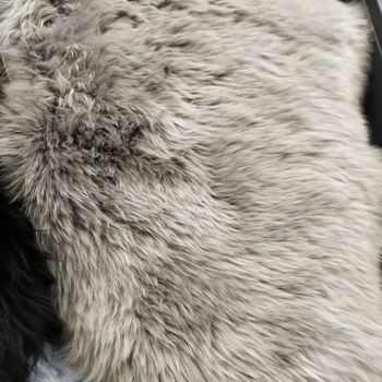 """Шкура из молодой австралийской овечки 1,10 X0,65-0,70 м """"GREY1810"""" single"""