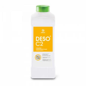 Deso C2 - Дезинфицирующее средство с моющим эффектом на основе ЧАС 1000 мл
