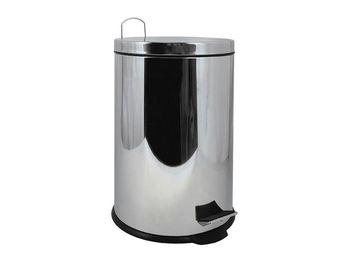 Ведро для мусора с педалью MSV Briliant 5l, нерж сталь