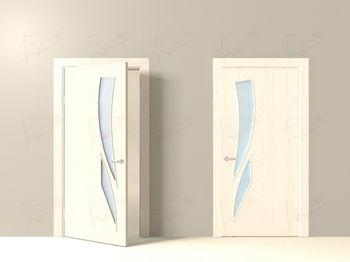 купить ЛР - 11 Беленый дуб с матовым стеклом 2.0м*0.6м в Кишинёве