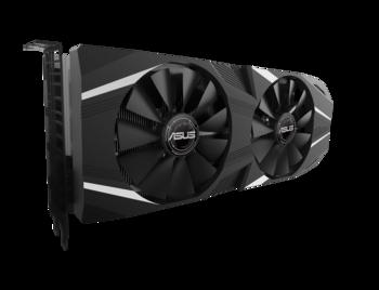 "cumpără ""VGA ASUS RTX2060 6GB GDDR6 Dual //  GeForce RTX™ 2060, 6GB GDDR6, 192 bit, Engine 1365/1710MHz (OC Mode), Memory 14000MHz, Active Cooling (2x fans), DVI-D *1, DisplayPort 1.4 *2, HDMI 2.0b *2, Power 8 Pin*1"" în Chișinău"
