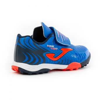 Детские бампы JOMA - SUPER COPA JR 2004 ROYAL-CORAL TURF
