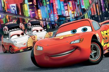 "17211 Trefl Puzzles - ""60"" - Tokyo / Disney Cars"