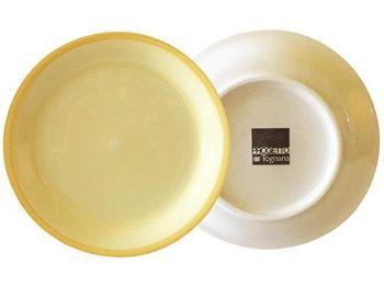 Тарелка десертная 19cm Tognana Gypsy Yellow, керамика