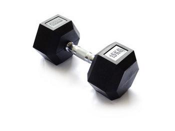 Гантель гексагональная 15 кг SPTM-42-6 (4224)