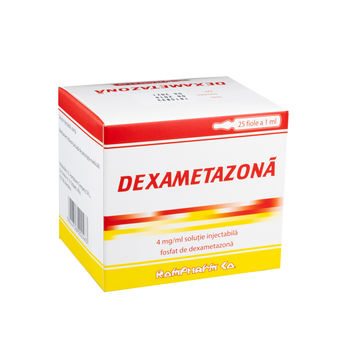 cumpără Dexamethason 4mg/1ml sol.inj. N5x5 în Chișinău