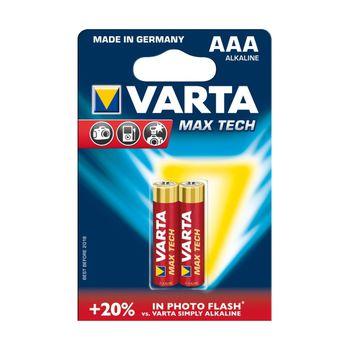 cumpără Baterii Varta AAA Max Tech 2 pcs/blist Alkaline, 04703 101 412 în Chișinău
