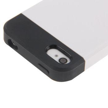 Чехол SGP Tough Armor комбинированный iPhone 4 / 4S белый