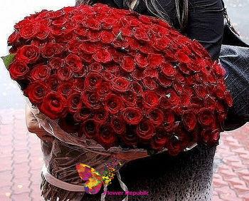купить Букет из 101 розы Премиум класса в Кишинёве
