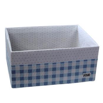 купить Коробка 440x320x200 мм, голубой в Кишинёве