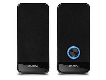 Active Speakers SVEN 320 Black USB, RMS 2x3W , volume control, USB power supply