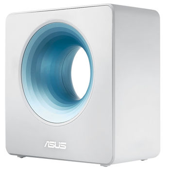 ASUS Blue Cave AC2600 Dual Band WiFi Router for Smart Home, AiMesh Wifi System, 512MB RAM, Dual-band 2.4GHz/5GHz, Network security with AiProtection Pro, WAN:1xRJ45 LAN: 4xRJ45 10/100/1000, USB 3.0, BLUE CAVE/UK/13/P_EU_UK/