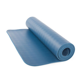 Коврик для йоги  Bodhi ECOPRO DIAMOND BLUE -6мм