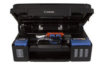 MFD Canon Pixma G2411 + Gift Kit II (GI-490BK + VP-101 + PP201)