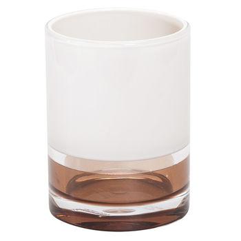 купить Стакан для ванной комнаты TATKRAFT Smoky Topaz 12639 акриловый 7,9х7,2х9см в Кишинёве