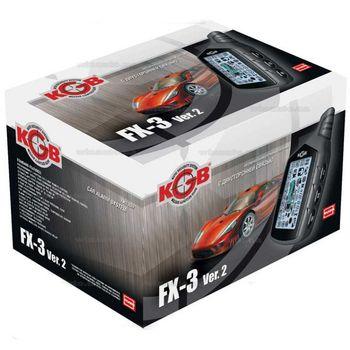 KGB FX3V2, Черный