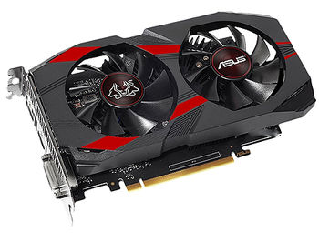 ASUS CERBERUS-GTX1050TI-O4G, GeForce GTX1050Ti 4GB GDDR5, 128-bit, GPU/Mem clock 1480/7008MHz, PCI-Express 3.0, 2xDVI-D/HDMI/Display Port (placa video/видеокарта)