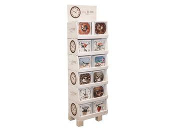 купить Часы настенные круглые D23cm (дисп 75) в Кишинёве