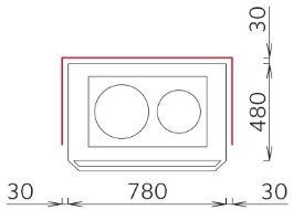 Печь-камин с духовкой - Tulikivi Н700