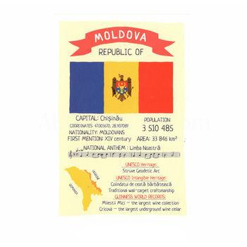 cumpără Carte Poștală – Republica Moldova în Chișinău