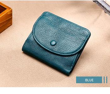 купить Короткий кошелек для женщин и девочек из натуральной  кожи. в Кишинёве