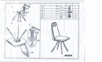 купить Стул Milton в Кишинёве