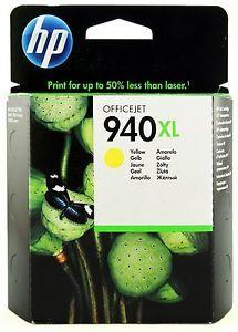 HP No.940XL Yellow Officejet Ink Cartridge