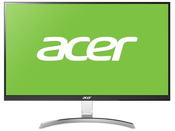 "27.0"" ACER IPS LED RC271U ZeroFrame Black/Silver (4ms, 100M:1, 250cd, 2560x1440, 178°/178°, HDMI, DisplayPort, Audio Line-out, USB Hub: 3 x USB3.1, VESA) [UM.HR1EE.015]"