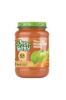 Пюре Baby Vita морковь, яблоко, 180г