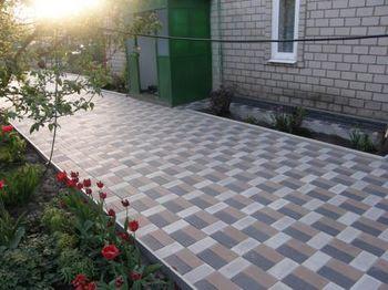 купить Bибропрессованная тротуарная плитка  (200x100x80mm) в Кишинёве