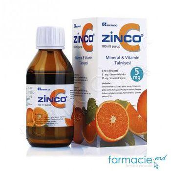 cumpără Zinco-C sirop 100ml (BERKO) Bioslo în Chișinău
