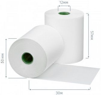 Rola din hartie termica 57mm/30m