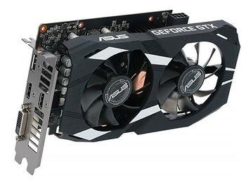 ASUS DUAL-GTX1660TI-O6G, GeForce GTX1660Ti 6GB GDDR6, 192-bit, GPU/Mem clock 1830/12002MHz, PCI-Express 3.0, DVI/2xHDMI/Display Port (placa video/видеокарта)