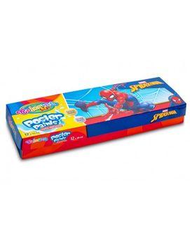 Гуашь COLORINO Disney SpiderMan, 12 цветов