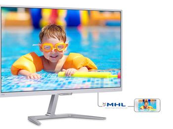 "купить Монитор 23.6"" Philips ""246E7QDSW"", G.White в Кишинёве"