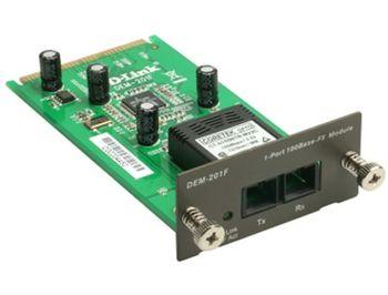 D-Link DEM-201F 1-port 100BASE-FX (SC) multi-mode fiber module, up to 2km (modul pentru comutatoarele DES-3018,3026 pentru cablu optic /модуль для коммутаторов DES-3018/3026 для многомодового оптического кабеля)