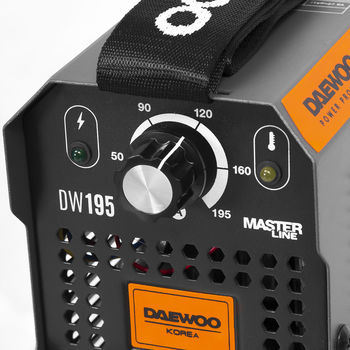 Daewoo DW 195  (6.9 кВт, 1.6-4.0 мм)