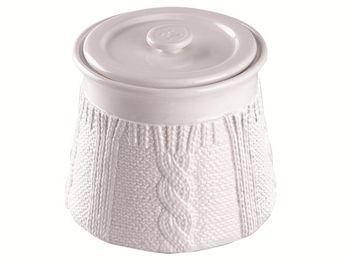 Емкость 1.4l Tognana Pullover, белая, керамика