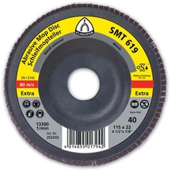 Klingspor Диск тарельчатый лепестковый 115мм SMT 619