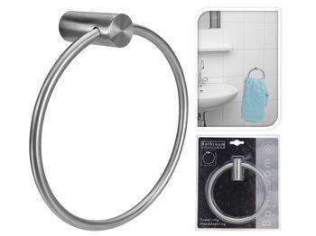 Держатель-кольцо для полотенец 15cm, нержавейка