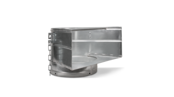 купить Загрузочная секция металл для резинового мусоропровода в Кишинёве