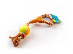 купить Веревочная игрушка(101-39) разные цвета, 38см в Кишинёве
