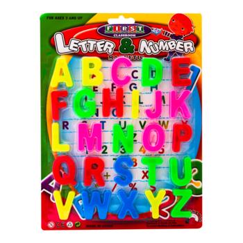 Набор магнитов для доски буквы