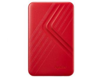 Сверхтонкий портативный жесткий диск Apacer AC236, 1,0 ТБ (USB3.1), 2,5 дюйма, красный (AP1TBAC236R-1)