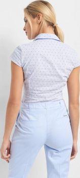 Блуза ORSAY Голубой с принтом 690090